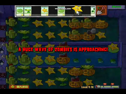 Plantas Vs Zombies(Zombie Yeti) Gameplay