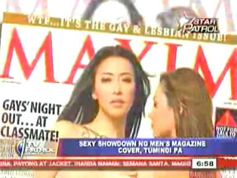 FHM vs Playboy vs Maxim Philippines April 2009 Issue