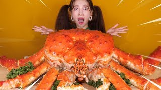 [Mukbang] Most Delicious KINGCRAB 5KG🦀대왕킹크랩 5KG 먹방 Eatingsound 帝王蟹 ンクレプ Ssoyoung Eatingsound
