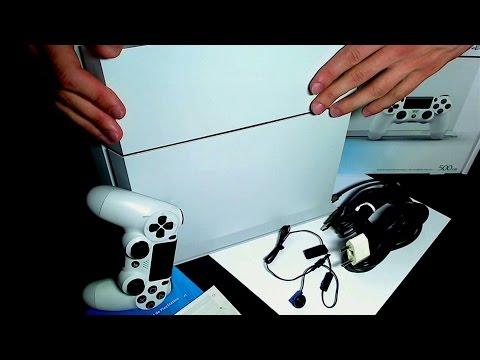 Распаковка Белой Playstation 4 Destiny Bundle