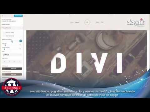 Introducing Divi 2 4 en español