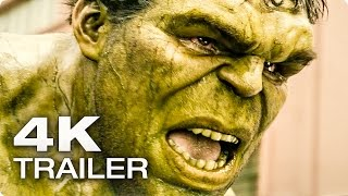 AVENGERS 2: Age Of Ultron Extended Trailer German Deutsch | 2015 [4K]