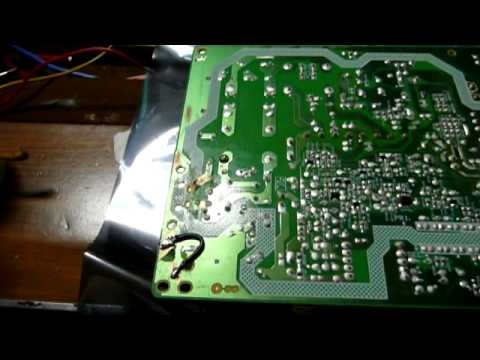 The Story Of Repairing An Unlucky LCD TV
