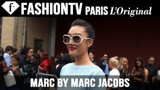 Marc by Marc Jacobs Spring 2015 Arrivals ft Miroslava Duma | New York Fashion Week NYFW | FashionTV