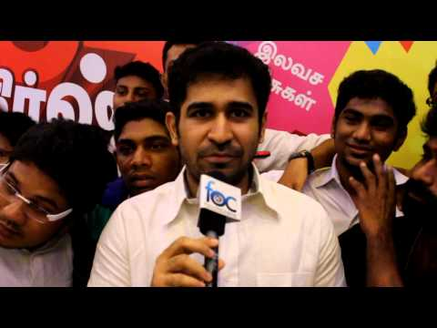 Vijay Antony at Sundaattam Audio Launch