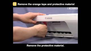 01. PIXMA MG2420/MG2520: Setting up the printer