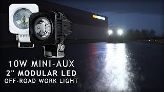 Mini Aux LED Off Road Modular Work Light