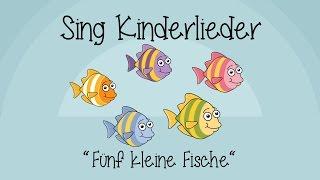Fünf kleine Fische - Kinderlieder zum Mitsingen | Sing Kinderlieder
