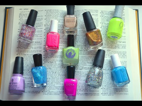 The Nail Polish Dictionary