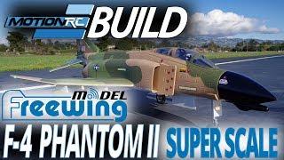 Freewing F-4 Phantom II 90mm EDF Jet - Build Video - Motion RC