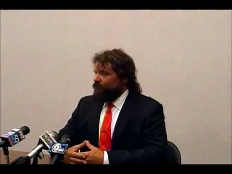 Rupert Boneham's Exploratory Committee Press Conference