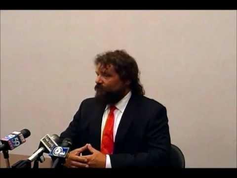 Rupert Boneham's Exploratory Committee Press Conference