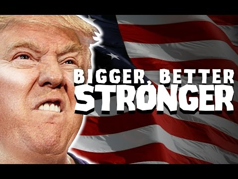 Party In Backyard - Bigger Better Stronger (ft. Donald Trump)