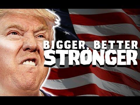 Party In Backyard - Bigger Better Stronger (ft. Donald Trump)