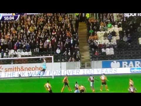 Primer gol de Enner Valencia con el West Ham en PL