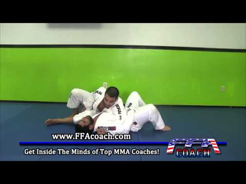 Triangle Choke from Side Control Feat BJJ World Champion Evandro Nunes