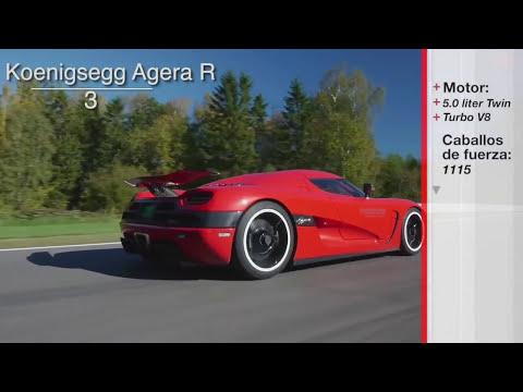 Los 10 Carros Mas Rapidos del 2014