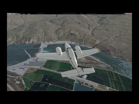 FSX Photoreal Mission: Resort Supply-w Baron G1000-1080p
