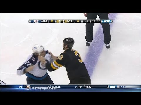 Chris Thorburn vs Zdeno Chara Jan 4, 2014