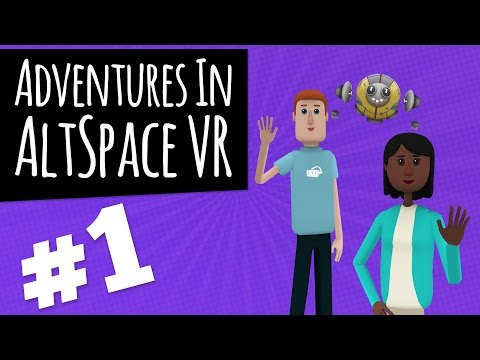 Adventures In AltspaceVR: Having An A-MAZE-ING Time - PART1 - RiftyBusiness