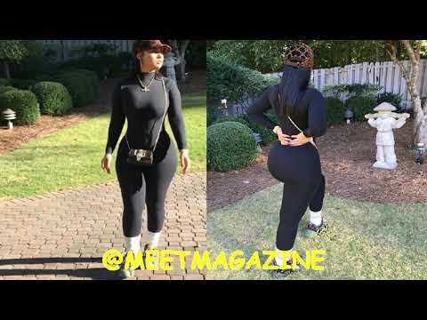 Tammy Rivera skin tight Fashion Nova body suit has the haters calling her a BBW LHHATL