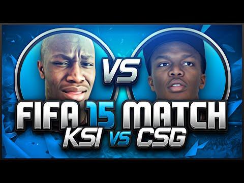 FIFA 15 | KSI VS COMEDYSHORTSGAMER