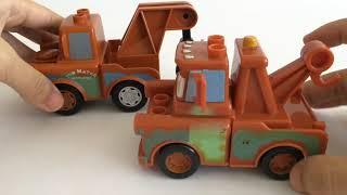 13 Disney Pixar Cars Lego Duplo Mega Bloks McQueen Mater Francesco Sally Doc Hudson Wingo Finn