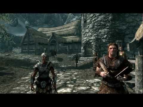 Elder Scrolls V: Skyrim Walkthrough - Part 1 HD - Creating a Hero (Xbox 360/PS3/PC Gameplay)