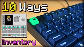 ✔ Minecraft: 10 Better Ways to use Your Inventory