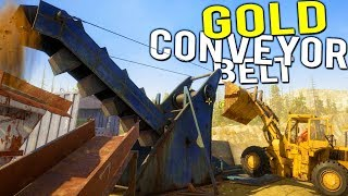 CONVEYOR BELT GOLD MINING IS THE BEST! GOING FOR THE BIGGEST HAUL! - Gold Rush Full Release Gameplay