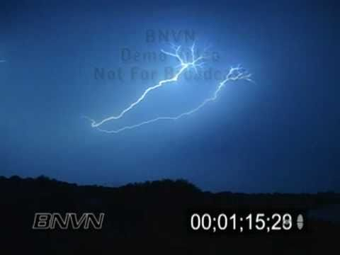 9/3/2005 into 9/4/2005 Overnight Lightning Video