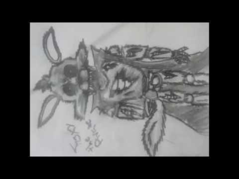 How to draw foxy the pirate como dibujar a foxy five nights at freddy