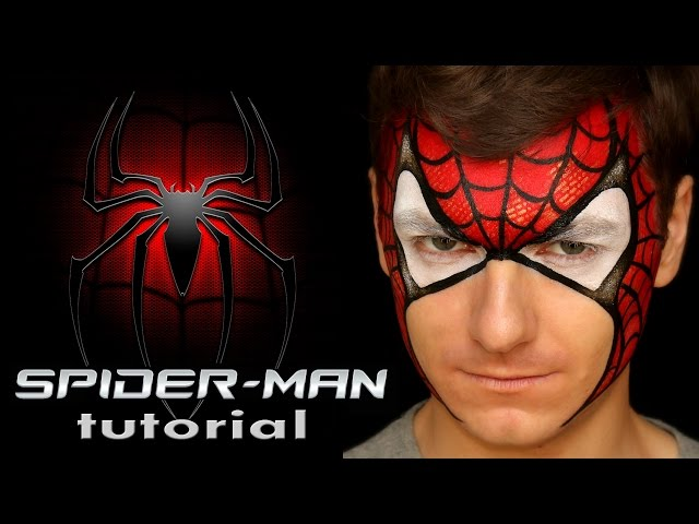 Spiderman makeup for kids