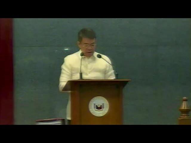 Senate opens second regular session of 17th Congress