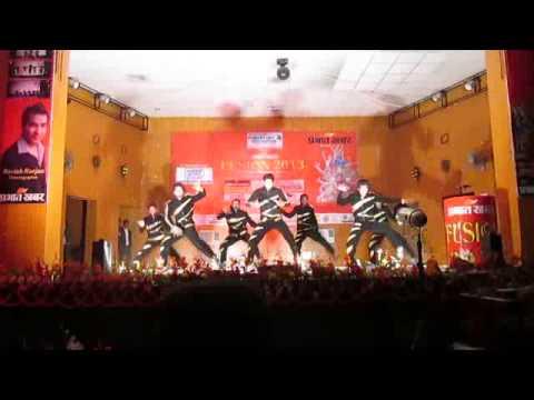 DANCE UNITY (ravish ranjan performing arts) ROCKED prabhat khabars...