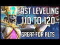 Fastest Leveling 110 To 120 In BFA - Great For Alts | WoW Battle for Azeroth