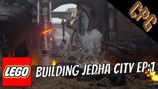 Building Rogue One in Lego: Jedha City Ep1
