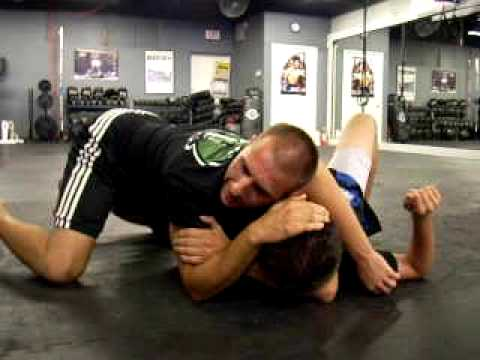 Brazilian Jiu Jitsu - Choke Submission from Side Control Image 1