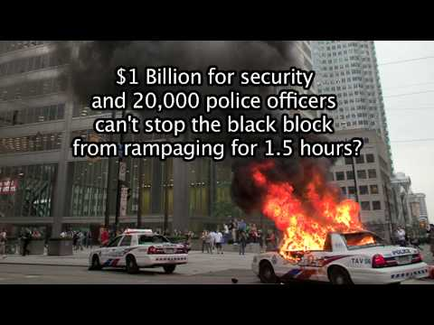 G20 Toronto Black Block get green light to rampage?