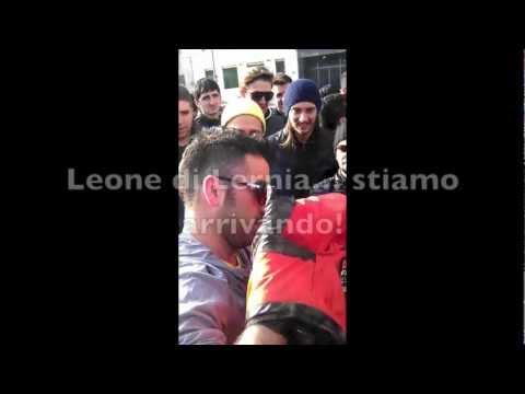 Ultras dei vip con Pio e Amedeo Backstage / Leone di Lernia