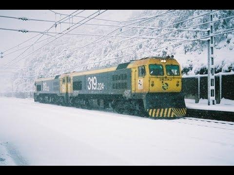 Trenes Pajares nieve 2008-2011