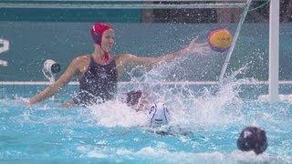 Women's Water Polo Preliminary Round - HUN v USA   London 2012 Olympics