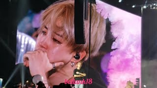 181006 (Love Myself /ending stage with Jimin Crying ??) BTS 'LOVE YOURSELF TOUR CITIFIELD' NY