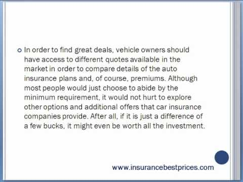 Get The Best Auto Insurance Quotes For Providence