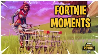 Fortnite New Update Shopping Cart Vehicle it's Hilarious (Fortnite Epic and Funny Moments Ep. 48)