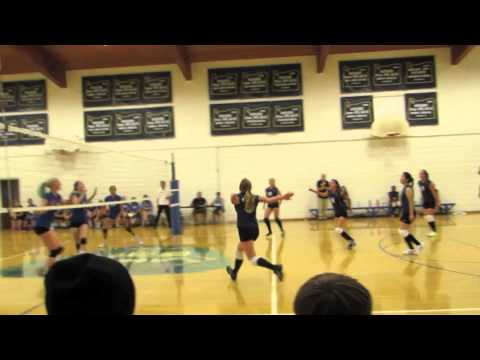 Canyonville Christian Academy's Girls' Volleyball Fall 2014/15 - 09/11/2014
