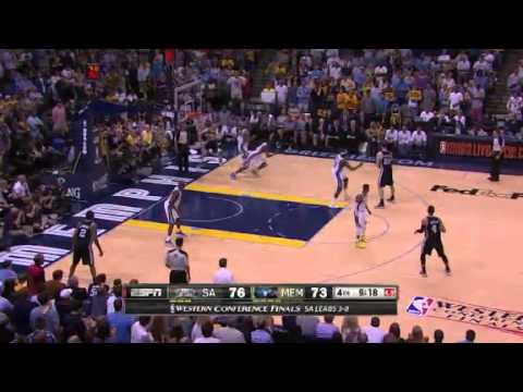 NBA San Antonio Spurs Vs Memphis Grizzlies - Game 4 | 27th May 2013 | Western Conference Finals 2013