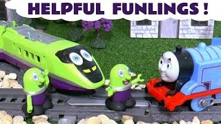 Funny Funlings Helpful Toy Stories with Thomas & Friends Trains and Disney Cars for Kids TT4U