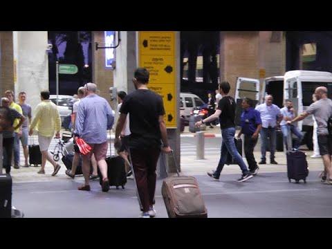 """דרמה בטיסה מנתב""""ג ללונדון בגלל דיווח שווא של נוסע על פצצה"""