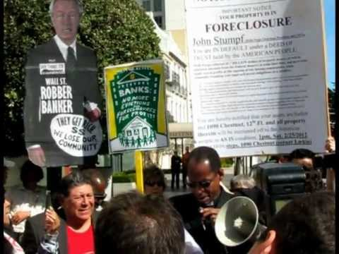 Occupy Forecloses on John Stumpf, CEO of Wells Fargo.mpg